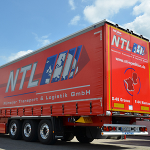 NTL Transporter für Plantransporte